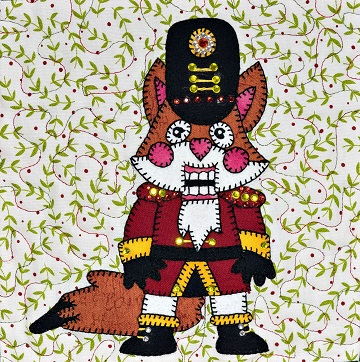 Nutcracker Fox Dancer by Ms P Designs USA