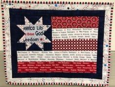 Susan's Patriotic Place Mat