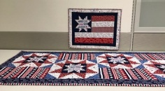 Susan's Patriotic Table Runner and Place Mat