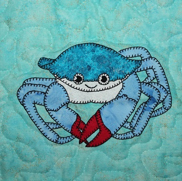 Crab Applique by Ms P Designs USA