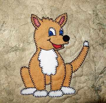 Dingo Applique by Ms P Designs USA