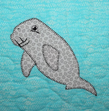 Dugong Applique by Ms P Designs USA