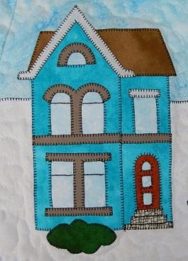 House B in Aqua by Ms P Designs USA