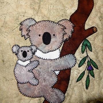 Koala Applique by Ms P Designs USA