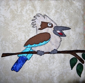 Kookaburra Applique by Ms P Designs USA