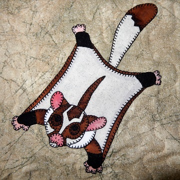Sugar Glider Applique by Ms P Designs USA