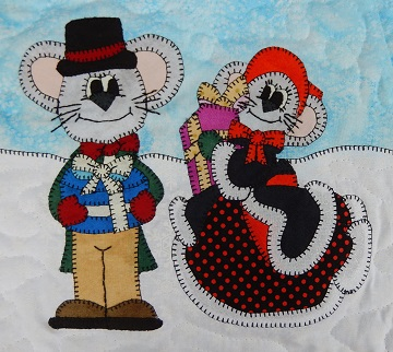 Teen Shopping Mice by Ms P Designs USA