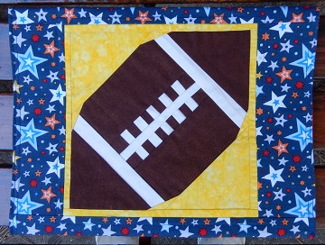 Back to School Folder with PP Football by Ms P Designs USA