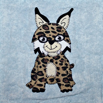 Bobcat Applique by Ms P Designs USA