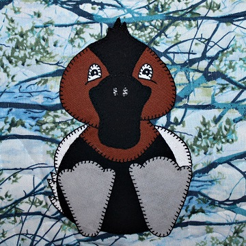 Canvasback Duck Applique by Ms P Designs USA