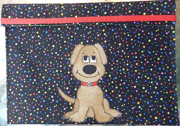 Dog Applique File Folder by Ms P Designs USA