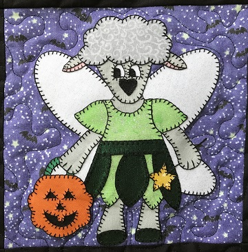 Fariy Lamb Applique by Ms P Designs USA