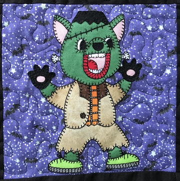 Frankenstein Tasmanian Devil Applique by Ms P Designs USA