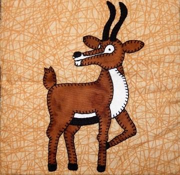 Gazelle Applique by Ms P Designs USA