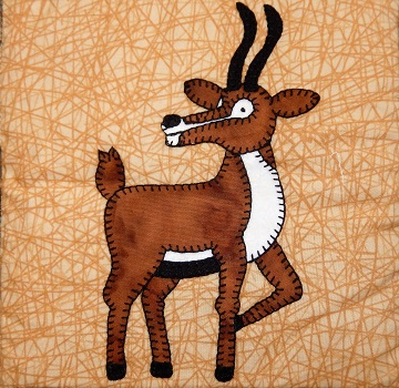 Gazelle Applique by Ms P Designs USA