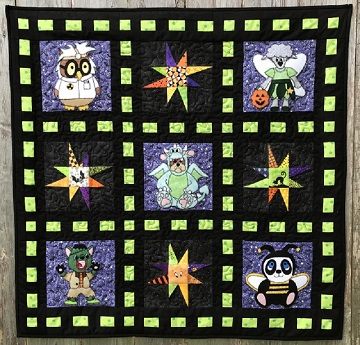 Halloween 2018 Quilt by Ms P Designs USA