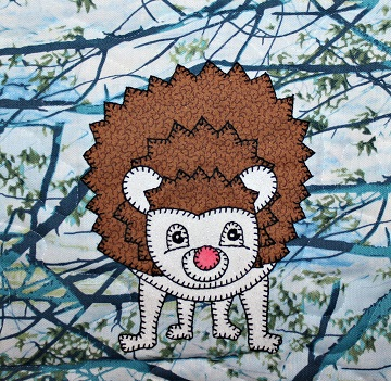 Hedgehog Applique by Ms P Designs USA