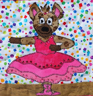 Hyena Ballerina by Ms P Designs USA