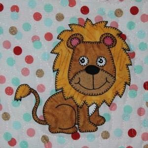 Lion Applique by Ms P Designs USA