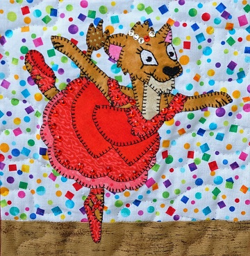 Lioness Ballerina by Ms P Designs USA