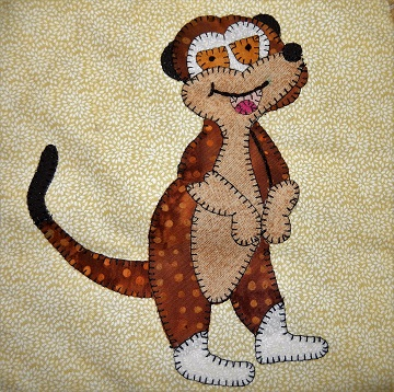Meerkat Applique by Ms P Designs USA