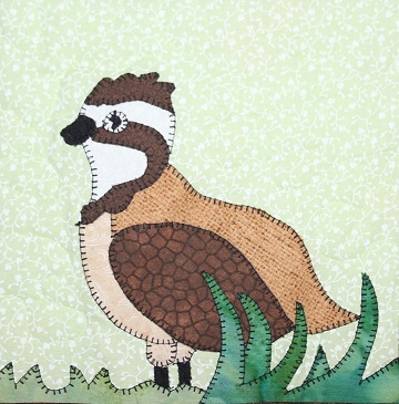 Northern Grouse Applique by Ms P Designs USA