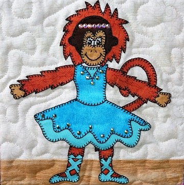 Orangutan Ballerina by Ms P Designs USA