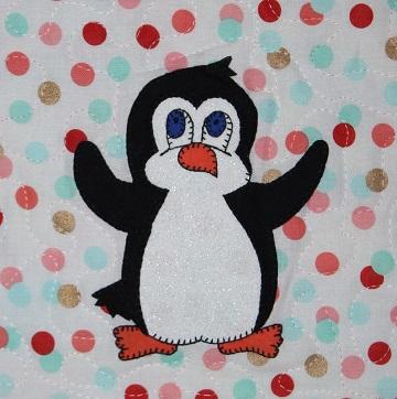 Penguin Applique by Ms P Designs USA