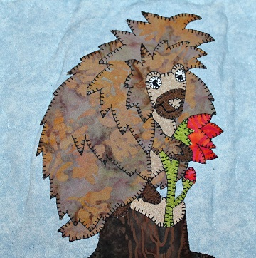 Porcupine Applique by Ms P Designs USA