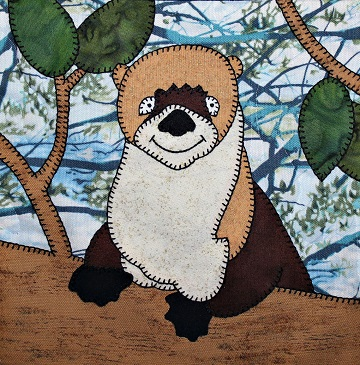 River Otter Applique by Ms P Designs USA