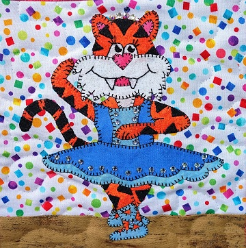 Tiger Ballerina by Ms P Designs USA