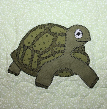 Tortoise Applique by Ms P Designs USA