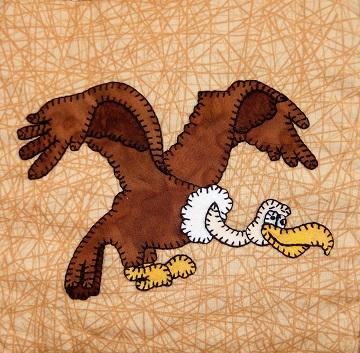 Vulture Applique by Ms P Designs USA