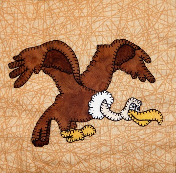 Vulture Applique by Ms P Designs USA