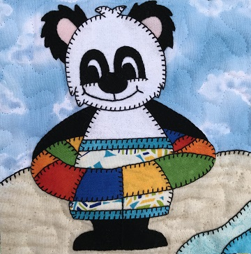 Floaty Bear by Ms P Designs USA