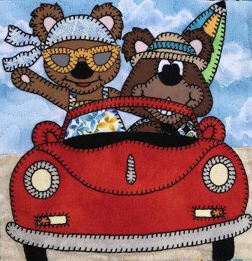 Grandma and Grandpa Bear by Ms P Designs USA