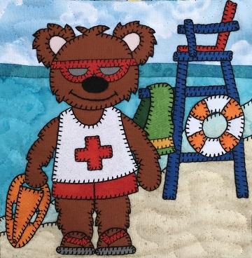 Lifeguard Bear by Ms P Designs USA