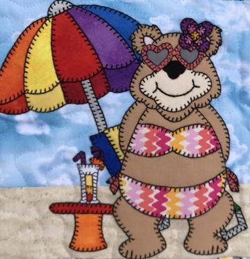 Momma Bear in Bikini by Ms P Designs USA