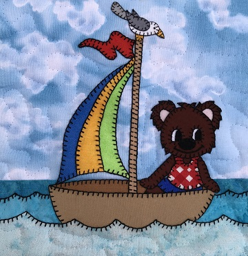 Sailor bear by Ms P Designs USA