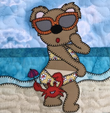 Suntan Bear by Ms P Designs USA