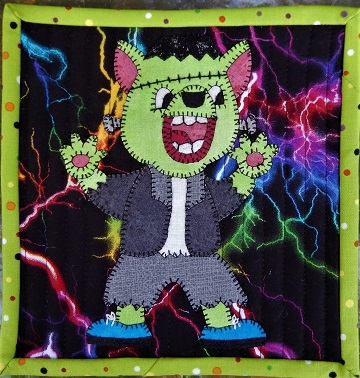 Frankenstein's Monster by Ms P Designs USA
