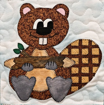 Beaver by Ms P Designs USA