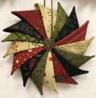 Folded Star Ornaments M by Ms P and Friends