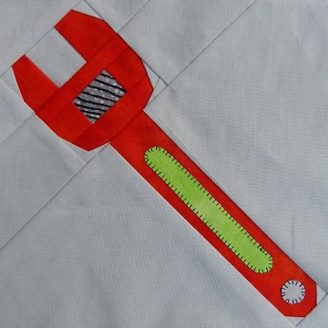 Adjustable wrench by Ms P Designs USA