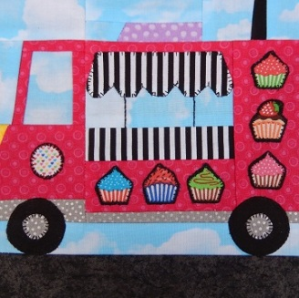 Food Truck A by Ms P Designs USA