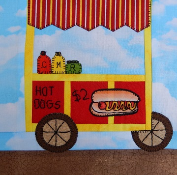 Hot Dog Cart by Ms P Designs USA