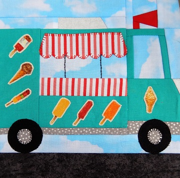 Ice Cream Truck by Ms P Designs USA