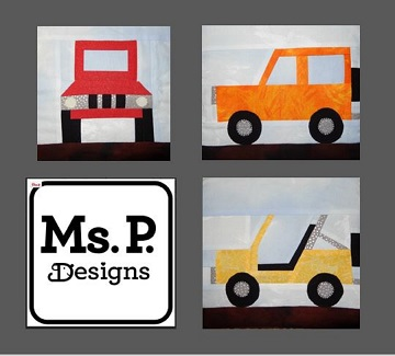 Jeeps Pattern Bundle by Ms P Designs USA