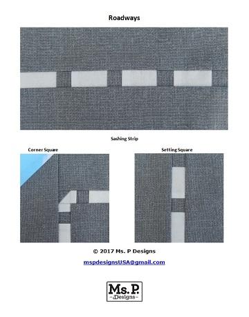Roadways Set by Ms P Designs USA