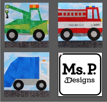 Service Vehicle Pattern Bundle by Ms P Designs USA